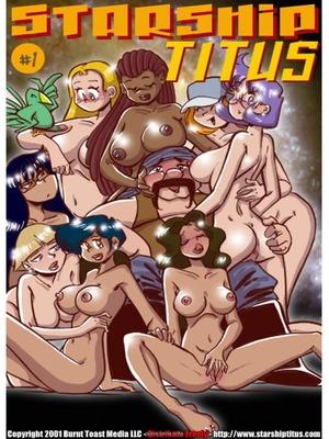 Porn Comics - Starship Titus1- Here Cums Captain Blarney Adult Comics