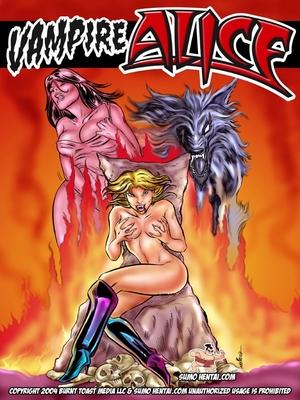 Porn Comics - Sumo Hentai- Vampire Alice  (Adult Comics)