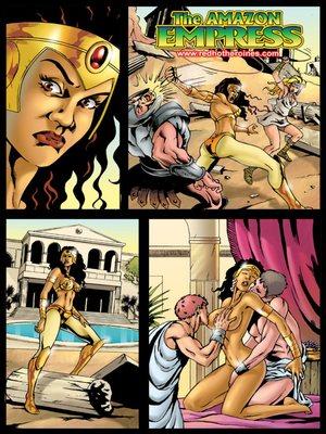 Porn Comics - SuperHeroineCentral- Amazon Empress  (Adult Comics)