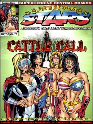 Porn Comics - SuperHeroineCentral- Freedom Stars-Cattle call  (Adult Comics)