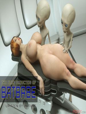 Thefoxxx- Alien abduction of Batbabe 3D Porn Comics