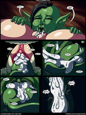 Porn Comics - Transmorpher DDS- Cock and Dagger Ch. 2 Adult Comics