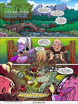 Porn Comics - Troll Toll- Mana World  (Porncomics)