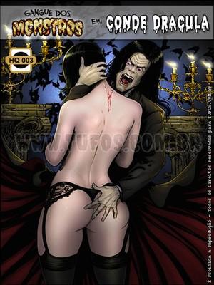Porn Comics - Tufos- Gangue dos Monstros 03- Dracula Adult Comics