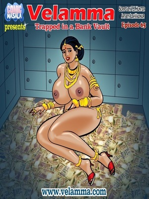 Velamma 65- Trapped in Bank Vault Porncomics