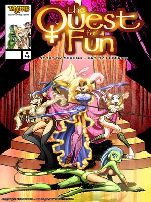 Porn Comics - Vixine Art- Quest For Fun 4  (Furry Comics)