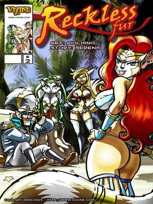 Porn Comics - Vixine Art- Reckless Fur 2  (Furry Comics)