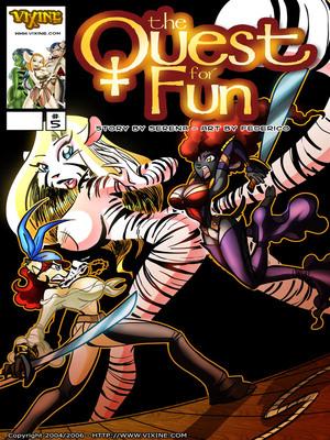 Porn Comics - Vixine Comix- Quest For Fun 05  (Furry Comics)