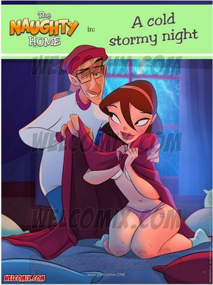 Welcomix-Naughty Home 21- Cold Stormy Night Incest Comics