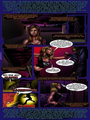 Porn Comics - World Of Smudge- Buffy  (Adult Comics)