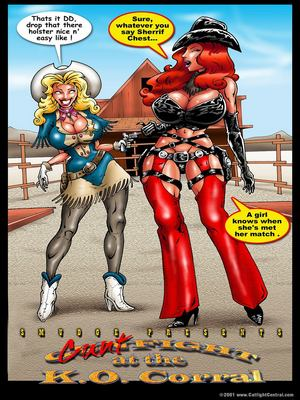 Porn Comics - World Of Smudge- Cunt Fight  (Porncomics)