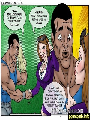Porn Comics - Xtreme Fitness 2  (Interracial Comics)