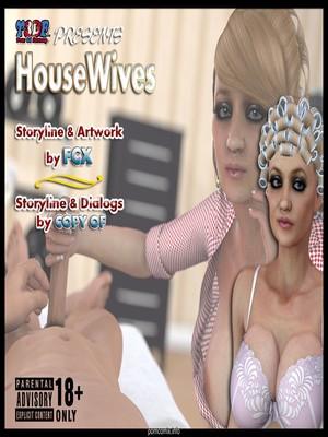 Porn Comics - Y3DF- Housewifes  (Y3DF Comics)