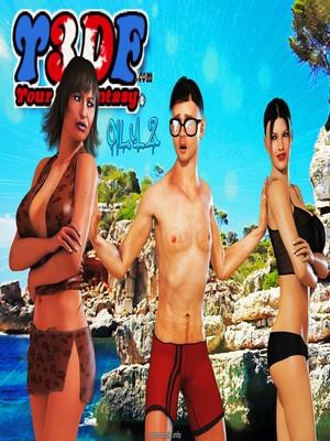 Porn Comics - Y3DF- Oily 2  (Y3DF Comics)