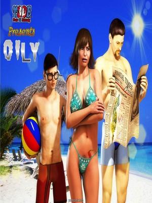 Porn Comics - Y3df-Oily  (Y3DF Comics)