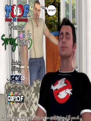 Porn Comics - Y3DF- Spring Time 3  (Y3DF Comics)