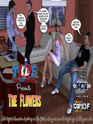 Porn Comics - Y3DF- The Flowers 1  (Y3DF Comics)