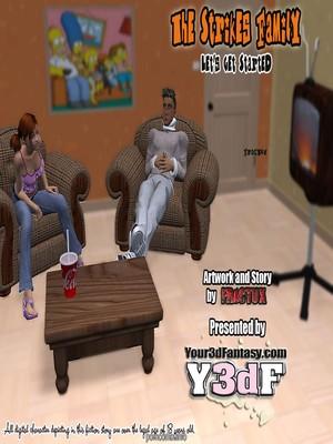 Porn Comics - Y3DF- The Strikes Family  (Y3DF Comics)