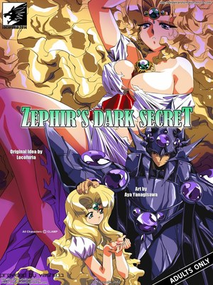 Porn Comics - Zephir's Dark Secret (Magic Knight Rayearth) Adult Comics