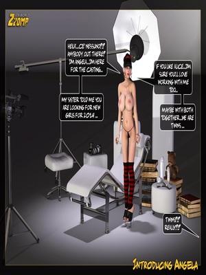 Zzomp- Introducing Angela 3D Porn Comics