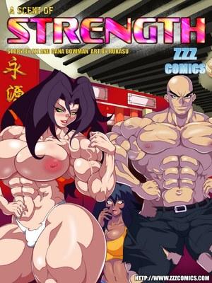 Porn Comics - ZZZ -A Scent of Strength  (Adult Comics)