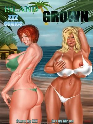 Porn Comics - ZZZ COMIX- Island Grown  (3D Porn Comics)
