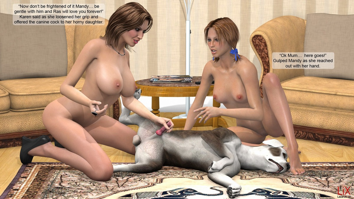 Step Mother Seduces Daughter