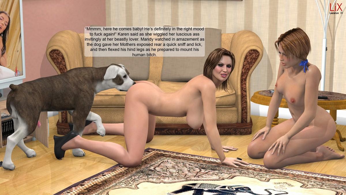 Lesbian Mother Daughter Porn