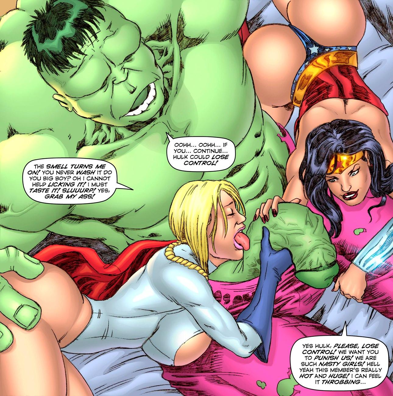 Hulk In Heat